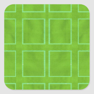 DIY Art Tools - ART101 Green Rich Surfaces Square Sticker