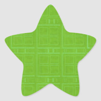 DIY Art Tools - ART101 Green Rich Surfaces Star Sticker