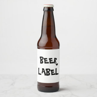 DIY Beer Label