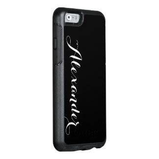 DIY Color Background, Name Monogram OtterBox iPhone 6/6s Case