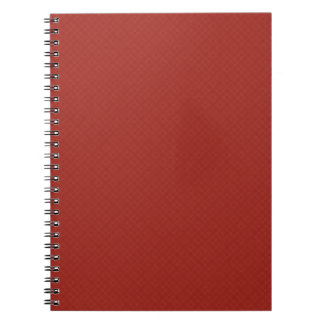 DIY Creat Your Own Red Pop of Color Gift Item Spiral Notebook