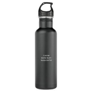 DIY Create Custom Stylish Matte Black Water Bottle