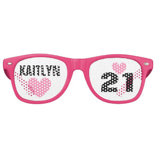 DIY Create Your Own 21st BIRTHDAY or ANY YEAR A62B Retro Sunglasses