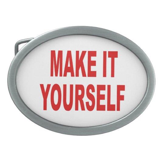 DIY Create Your Own Belt Buckle