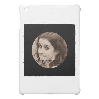 DIY Create Your Own Black Personalized Photo Frame iPad Mini Case