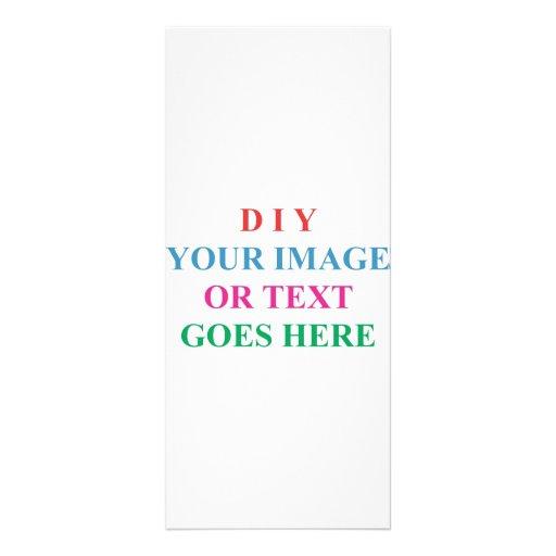 DIY CREATE YOUR OWN DESIGN RACK CARD DESIGN