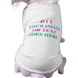 DIY CREATE YOUR OWN DESIGN SLEEVELESS DOG SHIRT