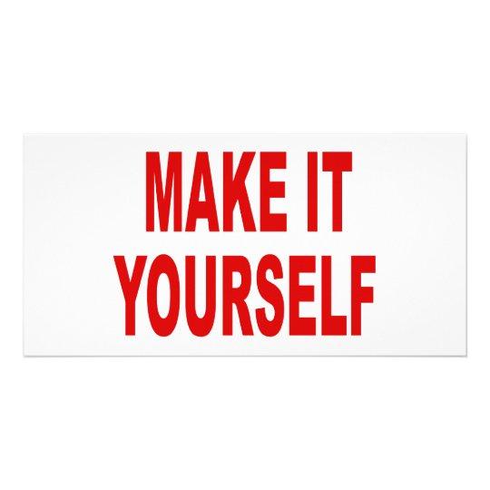 DIY Create Your Own Photo Card