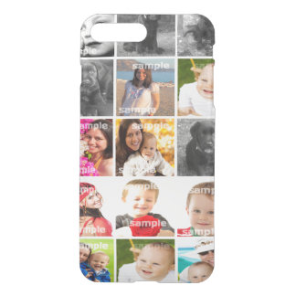 DIY Create Your Own Photo Collage Personalized iPhone 7 Plus Case