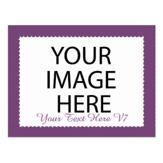 DIY Custom Photo Frame You Design Yourself V7 Postcard