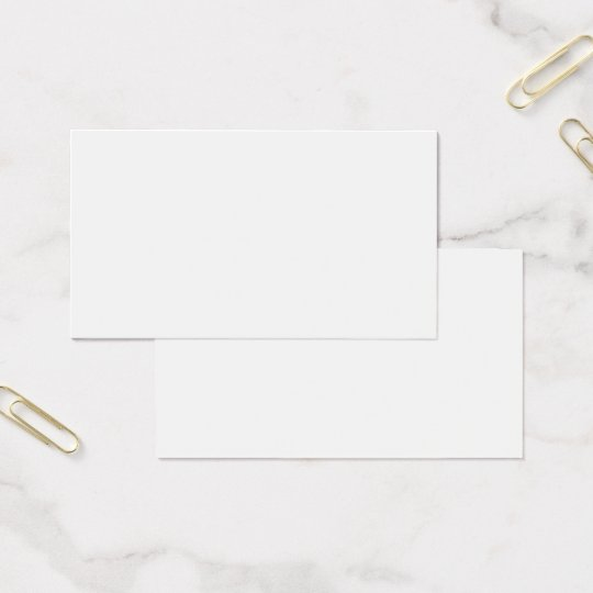 DIY / Customise this Business Card