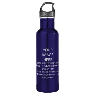 DIY / Customize this Cobalt Blue 710 Ml Water Bottle