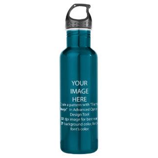 DIY / Customize this Teal 710 Ml Water Bottle