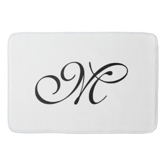 DIY - Customize your monogram, image, & ideas Bath Mats