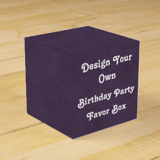 DIY Design Your Own Birthday Party Favor Box v08 Wedding Favour Boxes