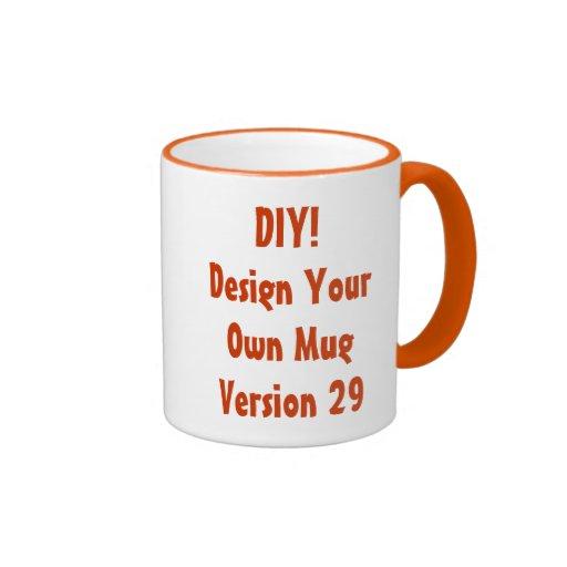 DIY Design Your Own Custom Gift Item Coffee Mug