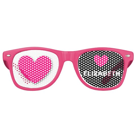 DIY Design Your Own Custom HEARTS Party Shades