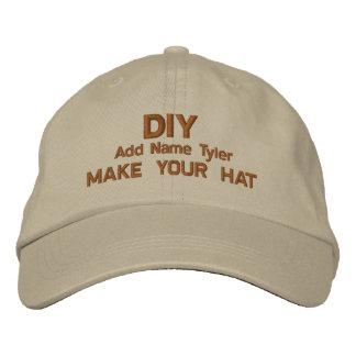 DIY Design Your Own Khaki  Custom Gift H020 Embroidered Baseball Cap