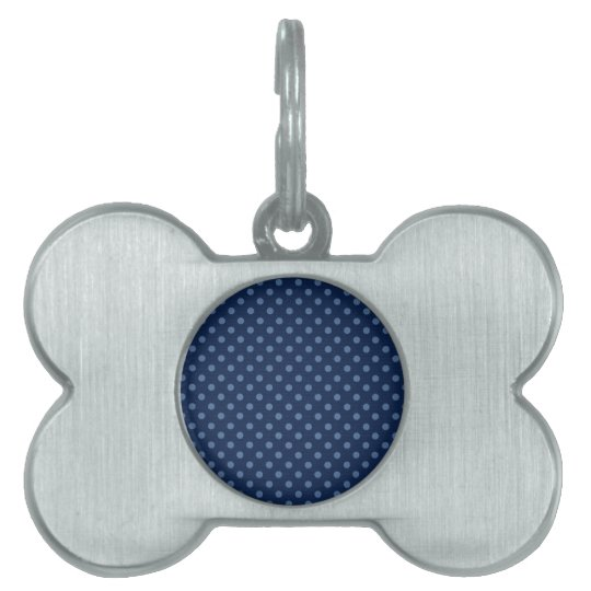 DIY Design Your Own Navy Blue Polka Dot