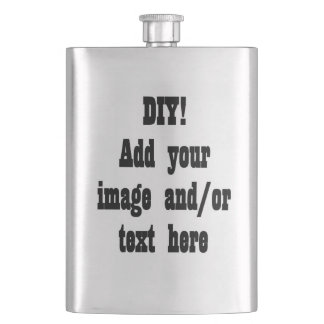 DIY Design Your Own Premium Flask Template v01
