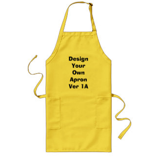 DIY Design Your Own Zazzle BBQ Apron Gift Item