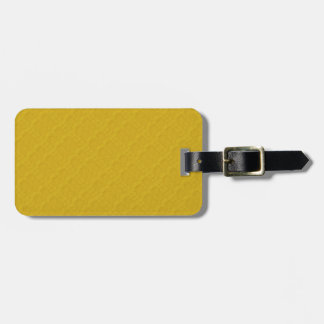 DIY Design Your Sunshine Yellow Color Gift Item Luggage Tag