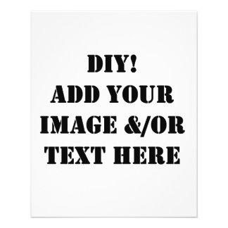 DIY Design Your Zazzle Paper Products Gift item 11.5 Cm X 14 Cm Flyer