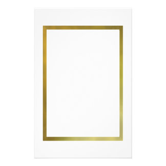 DIY ELEGANT WINDOW GOLD FRAME, PHOTO PORTRAIT GIFT STATIONERY PAPER