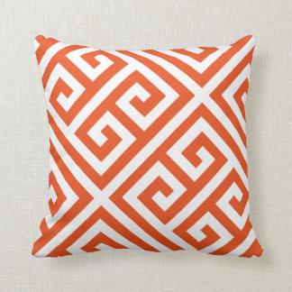 DIY Greek Key Pattern Custom Throw Pillow