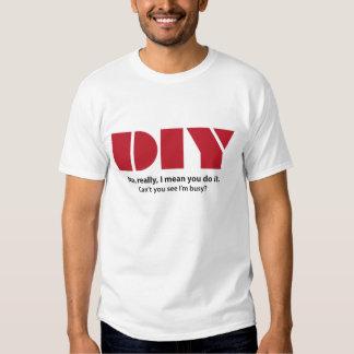 DIY I am busy T-Shirt