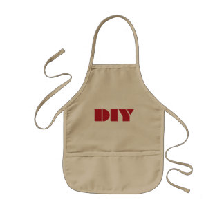 DIY Kids Cute Funny Kids Apron