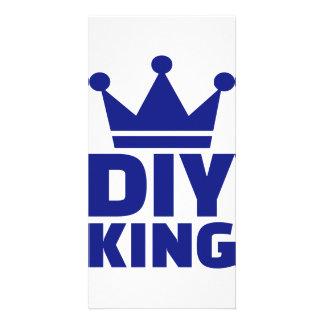 DIY King Personalised Photo Card