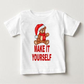 DIY Make It Yourself Christmas Bear TShirt