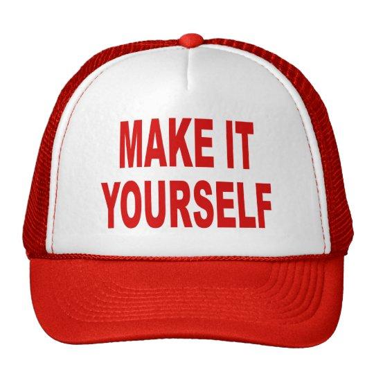 DIY Make It Yourself Custom Baseball Cap
