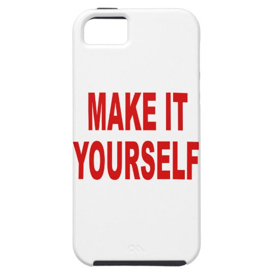 DIY Make It Yourself Custom iPhone 5 Case