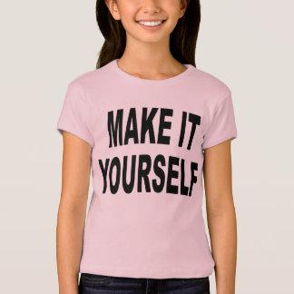 DIY Make It Yourself Girls TShirt