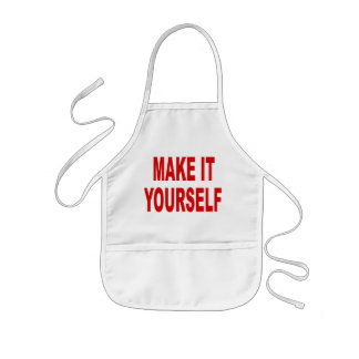 DIY Make It Yourself Kids Apron