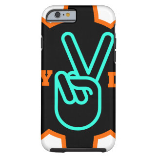 DIY MAKE PEACE TOUGH iPhone 6 CASE
