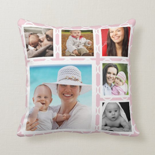 DIY Make Your Own Personalised Photo Template Cushion