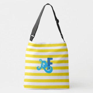 DIY monogram Tote Bag