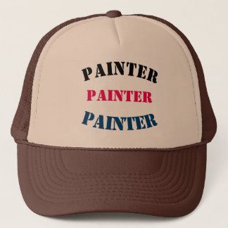 Diy Painter U can change TEXT STYLE SIZE COLOR Trucker Hat
