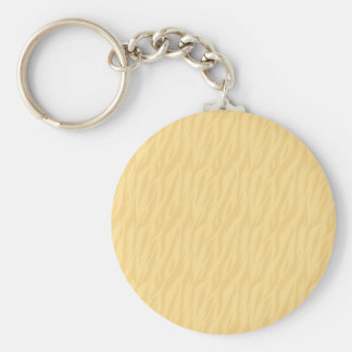DIY Pale Gold Zebra Print Gift Collection Key Ring