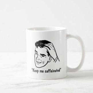 DIY Personal Message - Coffee Cup - Retro Man