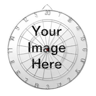 DIY Personalise Your Own Zazzle Home Gift Item Dartboard