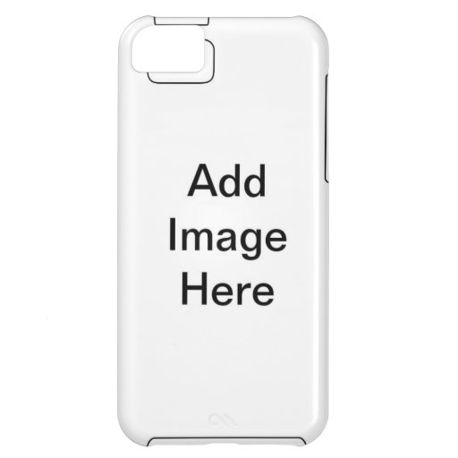 DIY Personalize Your Own Zazzle Home Gift Item Case For iPhone 5C