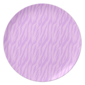 DIY Pink Zebra Print Design Your Own Zazzle Gift Plate