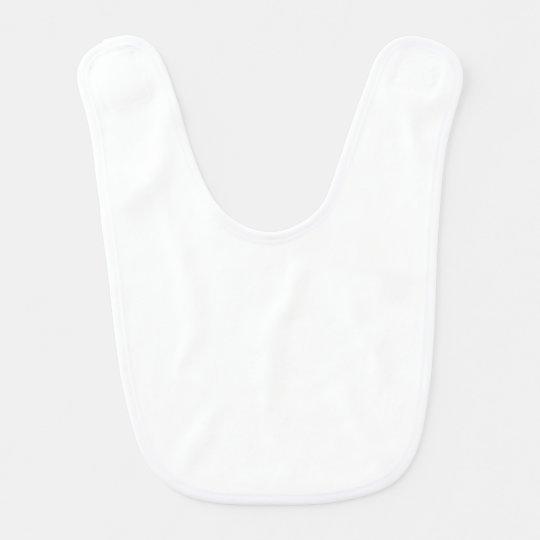 DIY Plain Blank White Baby Bib to Design