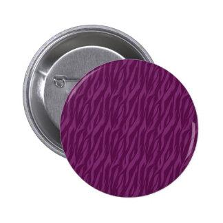 DIY Purple Zebra Background Color Design Your Own 6 Cm Round Badge
