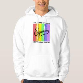 #DIY Rainbow Crossing - Get Chalking! Hooded Sweatshirts
