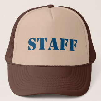 Diy STAFF U can change TEXT STYLE SIZE N COLOR Trucker Hat